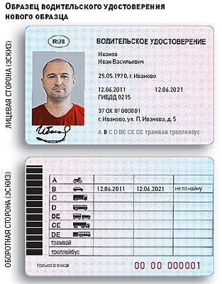 требование к фото на водительское удостоверение нового образца - фото 6